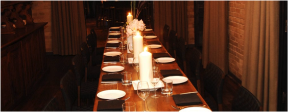 Event venues toronto for Best private dining rooms toronto