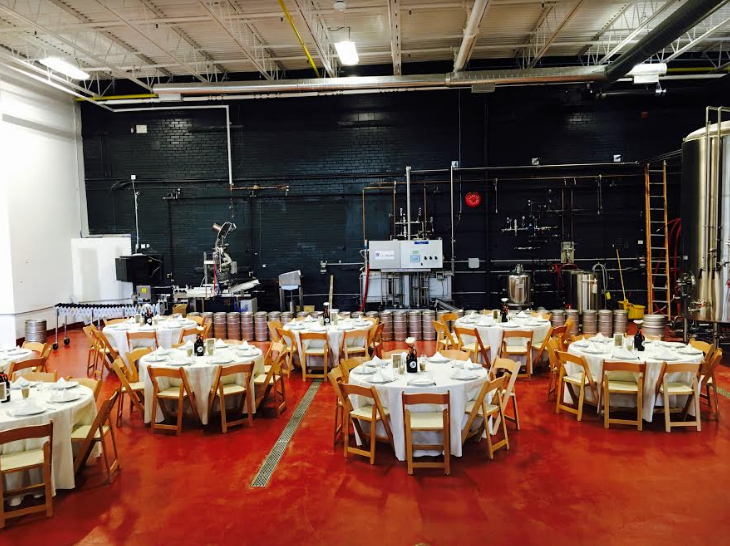 Event Set Up - Photo Courtesy of Henderson Brewery