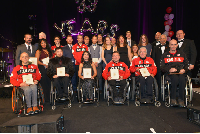 The 2016 Rio Paralympic Medal Winners (Photo Courtesy of Steve Blackburn of YYZEvents)