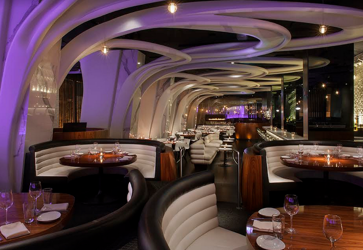 Stk a steakhouse with an artistic twist for Best restaurants with private dining rooms toronto