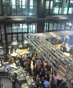View from the upper mezzanine at CRAFT.