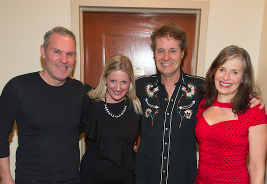 Deb Lewis with Jim Cuddy Band