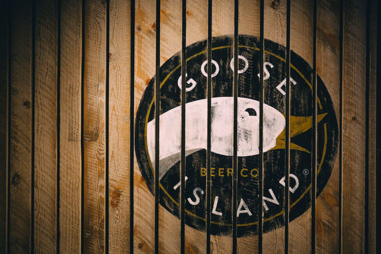 Goose Island (background)